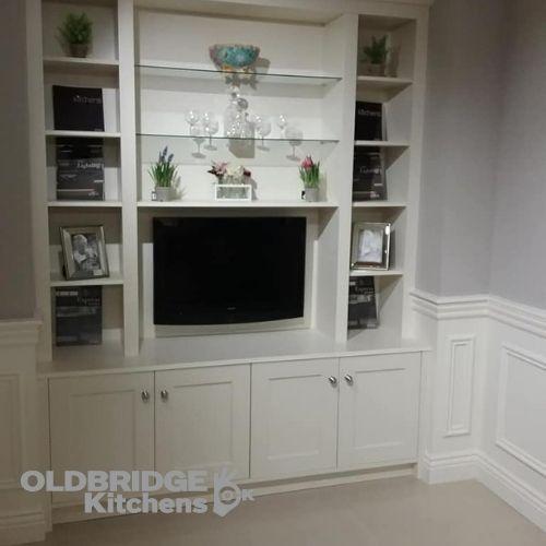 TV cupboard unit oldbridge kitchens